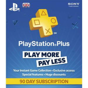 PlayStation Plus 90 дней USA регион