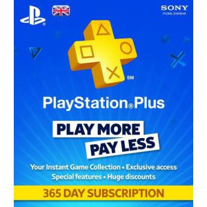 PlayStation Plus 365 дней USA регион