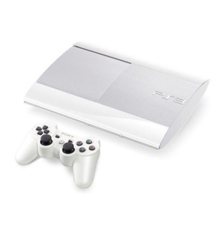 Sony Playstation 3 SUPER SLIM 500 Gb Белая