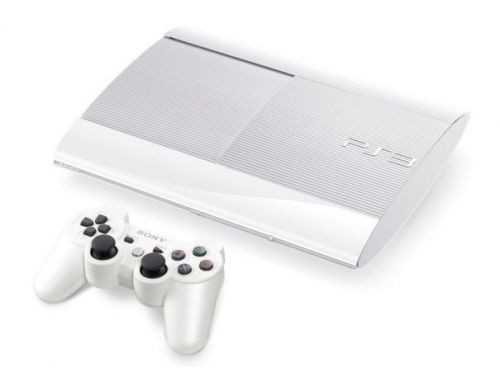 Фото №2 - Sony Playstation 3 SUPER SLIM 500 Gb Белая