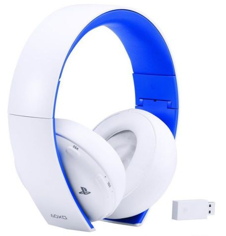 Фото №1 - Sony PlayStation Wireless Stereo Headset White