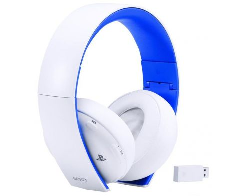 Фото №2 - Sony PlayStation Wireless Stereo Headset White