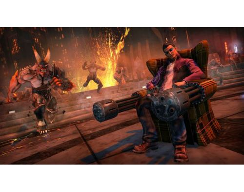 Фото №5 - Saints Row: Gat Out Of Hell PS4 русская версия