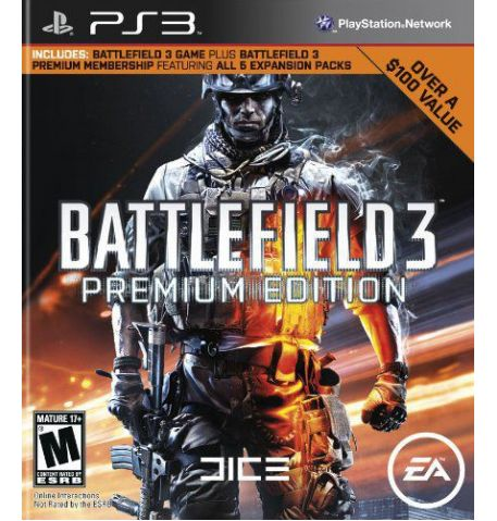 Фото №1 - Battlefield 3 Premium Edition PS3 (б/у)