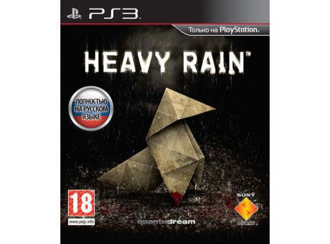 Фото №1 - Heavy Rain PS3 русская версия Б.У