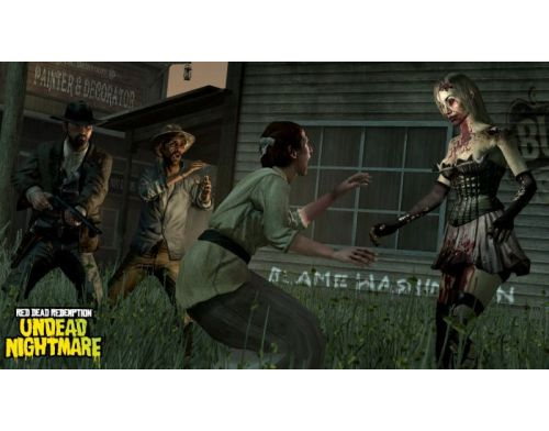 Фото №4 - Red Dead Redemption Undead Nightmare PS3 Б.У