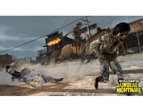 Фото №5 - Red Dead Redemption Undead Nightmare PS3 Б.У