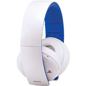 Sony PlayStation Gold Wireless Stereo Headset White