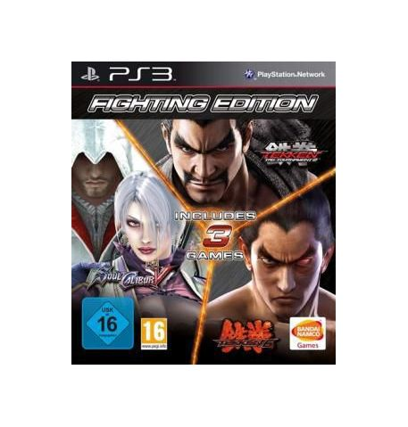 Фото №1 - Fighting Edition (Tekken 6 + Soul Calibur 5 + Tekken Tag Tournament 2) PS3