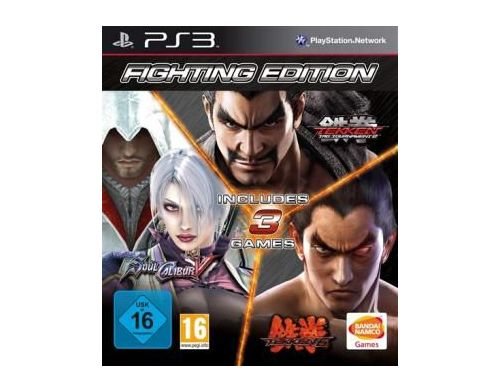 Фото №2 - Fighting Edition (Tekken 6 + Soul Calibur 5 + Tekken Tag Tournament 2) PS3