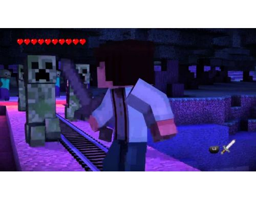 Фото №4 - Minecraft Story Mode PS4