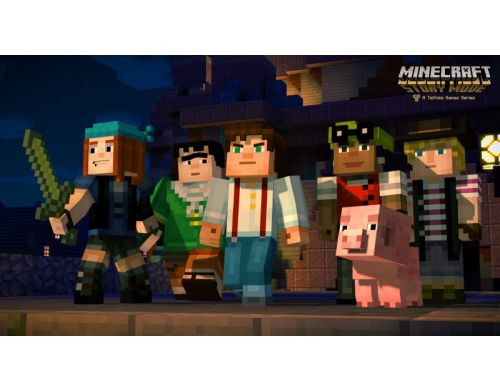 Фото №5 - Minecraft Story Mode PS4