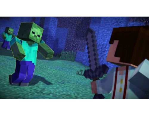 Фото №6 - Minecraft Story Mode PS4