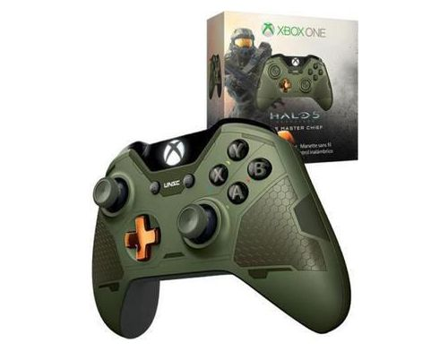 Фото №3 - Xbox ONE Controller Halo Master Chief Edition