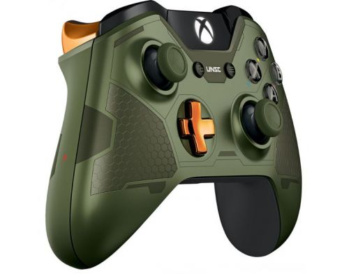 Фото №4 - Xbox ONE Controller Halo Master Chief Edition