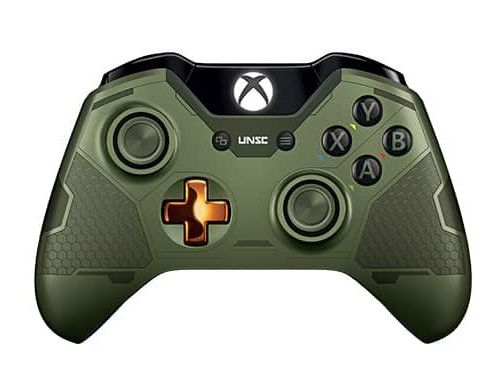 Фото №2 - Xbox ONE Controller Halo Master Chief Edition
