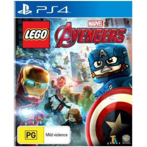 LEGO Marvel's Avengers PS4 русская версия