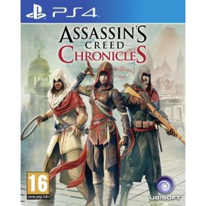 Assassin's Creed Chronicles Trilogy PS4 русские субтитры