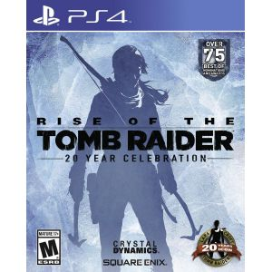 Rise of the Tomb Raider 20 Year Celebration Edition PS4 русская версия