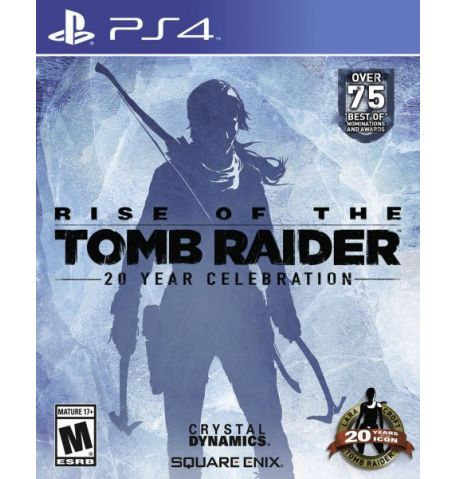 Фото №1 - Rise of the Tomb Raider 20 Year Celebration Edition PS4 русская версия