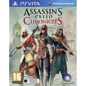 Assassin's Creed Chronicles Trilogy PS Vita русские субтитры