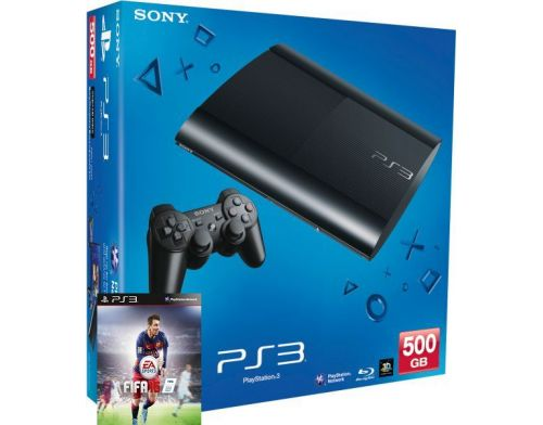 Фото №2 - Sony Playstation 3 SUPER SLIM 500 Gb + Игра FIFA 16