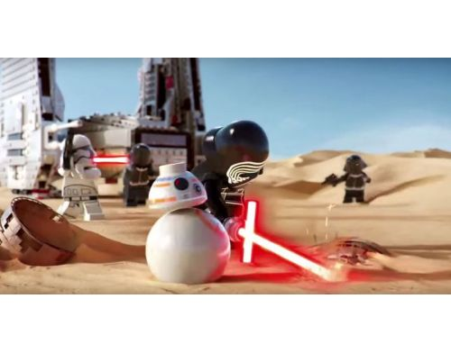 Фото №5 - LEGO Star Wars: The Force Awakens PS3