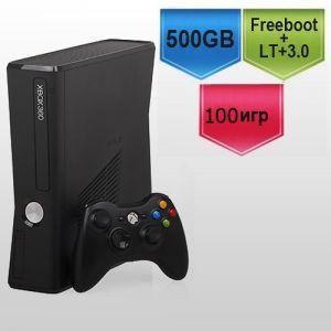 Microsoft Xbox 360 Slim 500Gb FREEBOOT + (Версия прошивки LT+ 3.0) + 100 игр