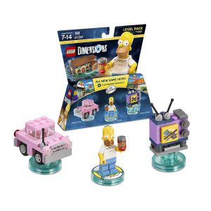 LEGO Dimensions The Simpsons Gomer Level Pack