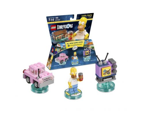 Фото №2 - LEGO Dimensions The Simpsons Gomer Level Pack