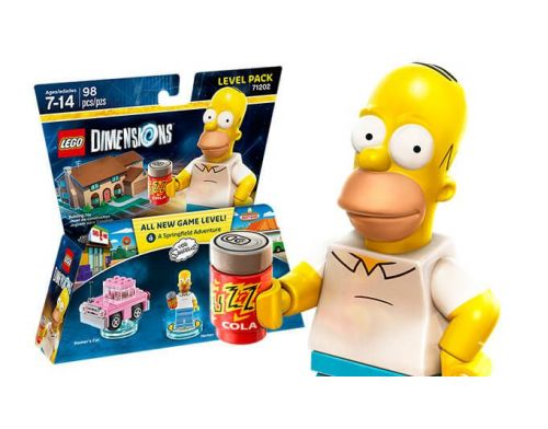 Фото №3 - LEGO Dimensions The Simpsons Gomer Level Pack
