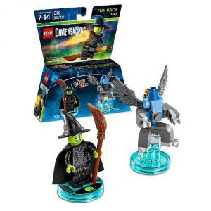 LEGO Dimensions Wizard of Qz Wicked Fun Pack