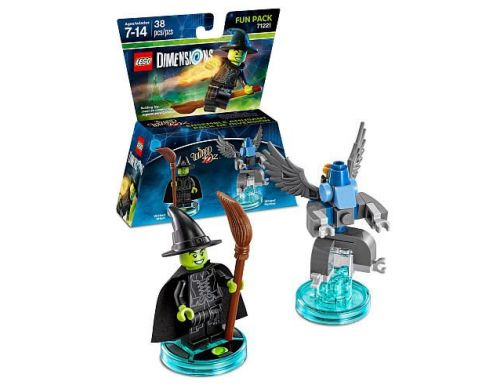 Фото №2 - LEGO Dimensions Wizard of Qz Wicked Fun Pack