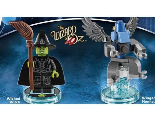 Фото №4 - LEGO Dimensions Wizard of Qz Wicked Fun Pack