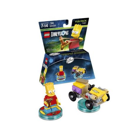 Фото №1 - LEGO Dimensions Simpsons Bart Fun Pack