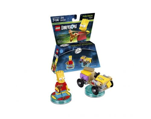 Фото №2 - LEGO Dimensions Simpsons Bart Fun Pack