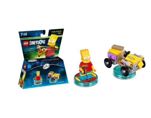 Фото №3 - LEGO Dimensions Simpsons Bart Fun Pack