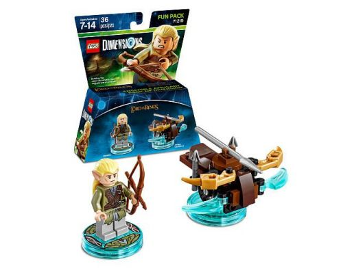Фото №2 - LEGO Dimensions Lord of the Ring Legolas Fun Pack