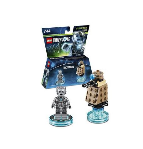 Фото №1 - LEGO Dimensions Doctor Who Cyberman Fun Pack