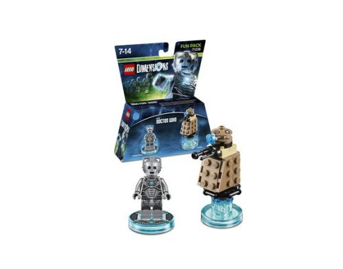 Фото №2 - LEGO Dimensions Doctor Who Cyberman Fun Pack