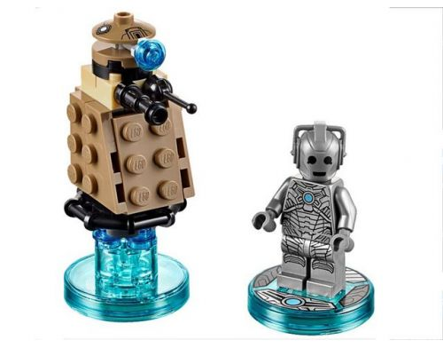 Фото №3 - LEGO Dimensions Doctor Who Cyberman Fun Pack