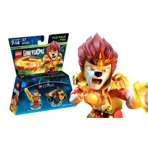 LEGO Dimensions Lego Legend of Chima (Laval, Mighty Lion Rider) Fun Pack