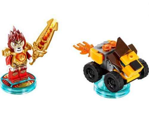 Фото №3 - LEGO Dimensions Lego Legend of Chima (Laval, Mighty Lion Rider) Fun Pack