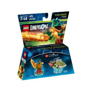 LEGO Dimensions Lego Legend of Chima (Cragger, Swamp Skimmer) Fun Pack