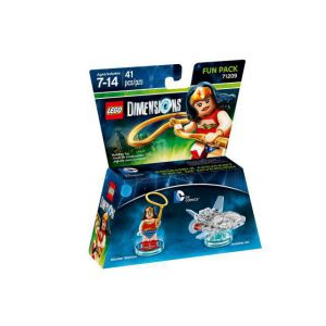 LEGO Dimensions DC Comics (Womder Woman, Invisible Jet) Fun Pack