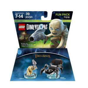 LEGO Dimensions The Lord of the Ring (Gollum, Shelob the Great) Fun Pack