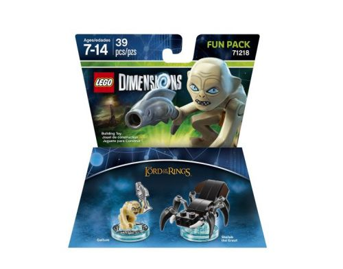 Фото №2 - LEGO Dimensions The Lord of the Ring (Gollum, Shelob the Great) Fun Pack