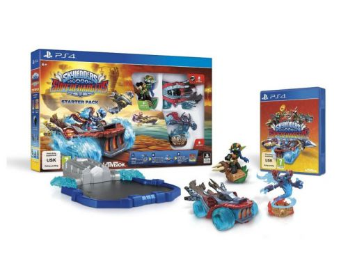 Фото №2 - Skylanders SuperChargers Starter Pack PS4