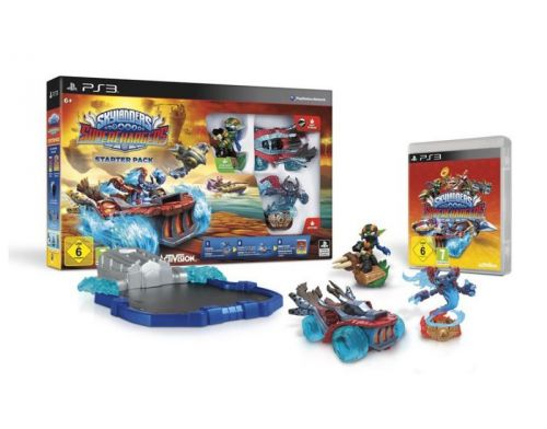 Фото №2 - Skylanders SuperChargers Starter Pack PS3