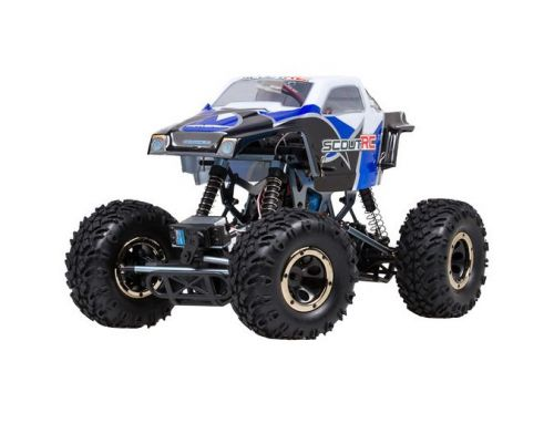 Фото №2 - Автомобиль HPI Racing Maverick Scout RC Rock Crawler 1:10 RTR 430 мм 4WD 2,4 ГГц (MV12501 Blue)